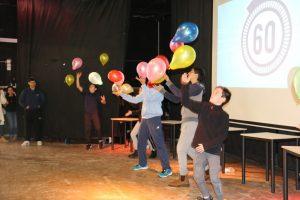 אליפות גלים בדקה - פעילות חנוכה של מועצת התלמידים תשעז
